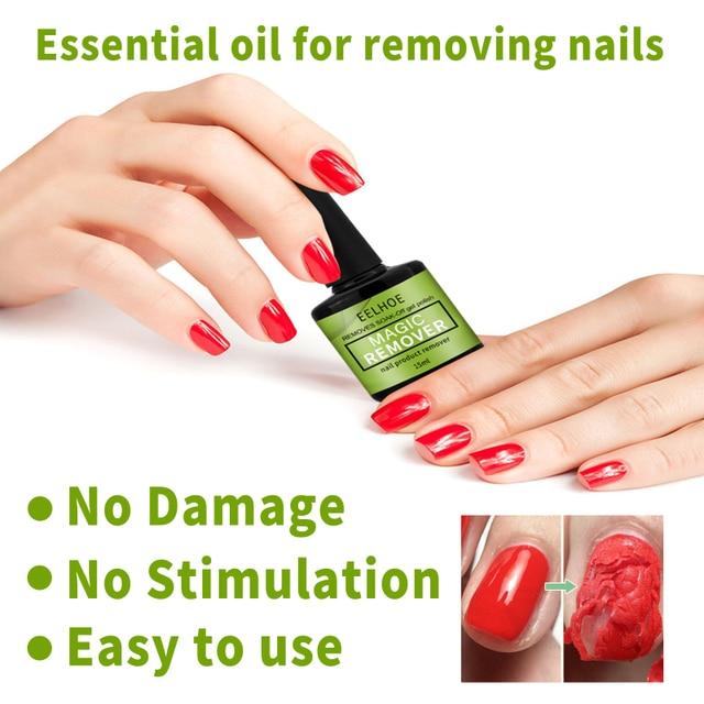 15ml Magic Burst Nail Gel Remover UV Gel Remover Fast Manicure Semi Permanent Nail Polish Soak Off Remover Polish Dropship 3