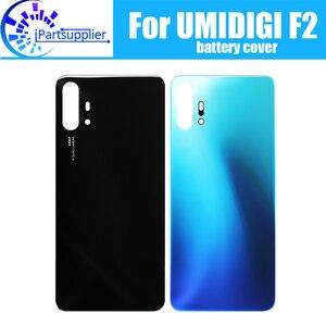 Image 1 - UMIDIGI F2 pil kapağı değiştirme için 100% orijinal yeni dayanıklı geri durumda cep telefonu aksesuarı UMIDIGI F2