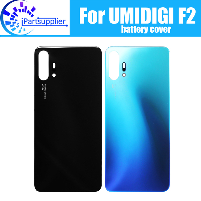 UMIDIGI F2 pil kapağı değiştirme için 100% orijinal yeni dayanıklı geri durumda cep telefonu aksesuarı UMIDIGI F2