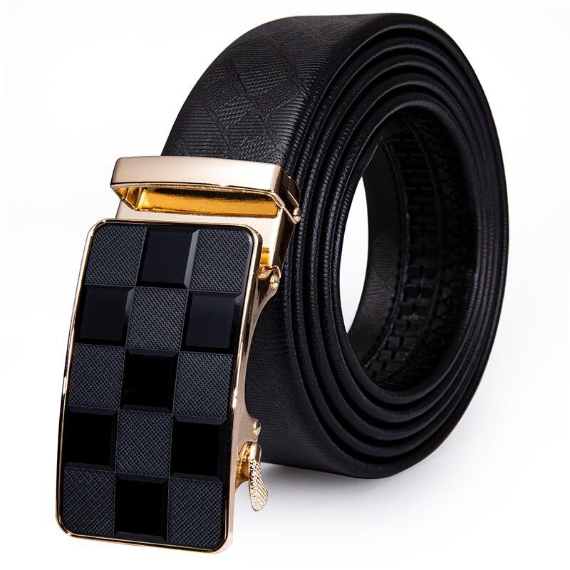 AK-2177 Men's Belt Leather Belt Men Male Genuine Leather Strap Luxury Business Automatic Men's Belt Cummerbunds Ceinture Homme