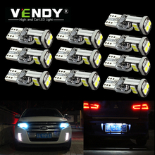 10pcs W5W T10 LED Light Lamp Bulb Canbus For Lexus is250 rx330 rx300 gs300 gx470 LX470 LS430 IS350 ES350 GS350 RX350 no error cha for lexus 2009 up rx270 rx300 rx350 rx450h led tail lamp rear light
