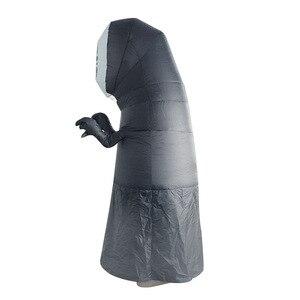 Image 3 - Disfraces inflables sin rostro para hombre y mujer, Cosplay para adulto, mujer, Halloween, actuación de fiesta, Club, disfraces inflables
