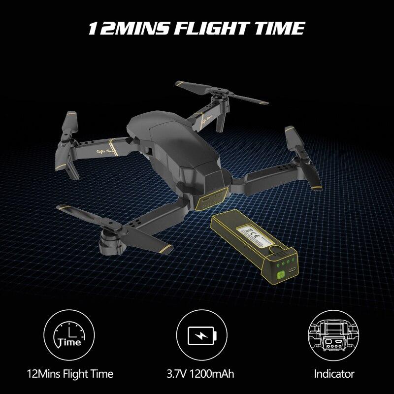 Drone Global EXA professionnel Quadrocopter avec caméra HD 1080P hélicoptère RC FPV Drones flux optique Selfie Dron VS E58 E520 - 5