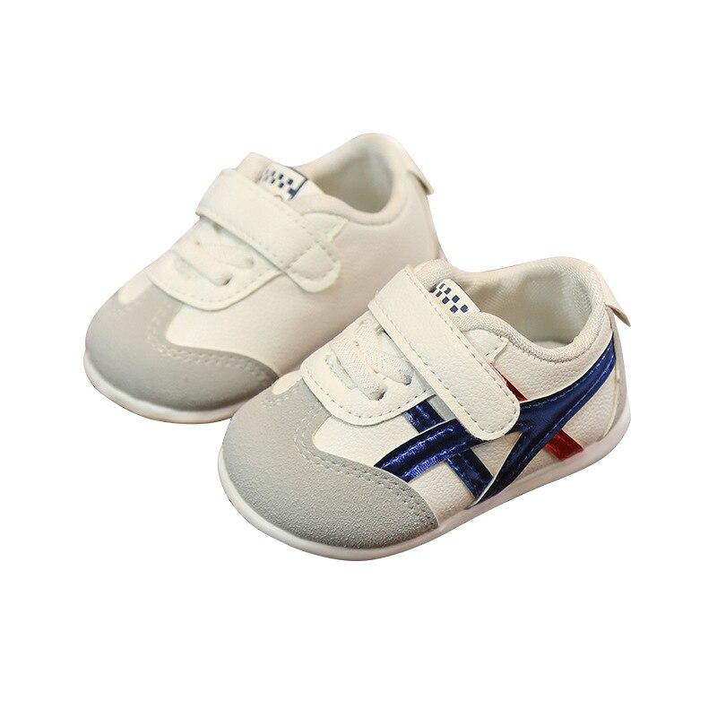 0 à 18 mois bébé garçons et filles chaussures enfant en bas âge chaussures de sport nouveau-né fond souple première marche chaussures de mode antidérapantes 5