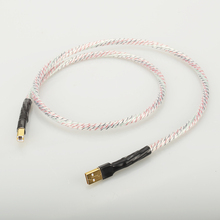 Hifi Nordost Valhalla топ-номинальный посеребренный+ щит USB кабель высокого качества тип А-Тип B Hifi кабель для передачи данных для DAC