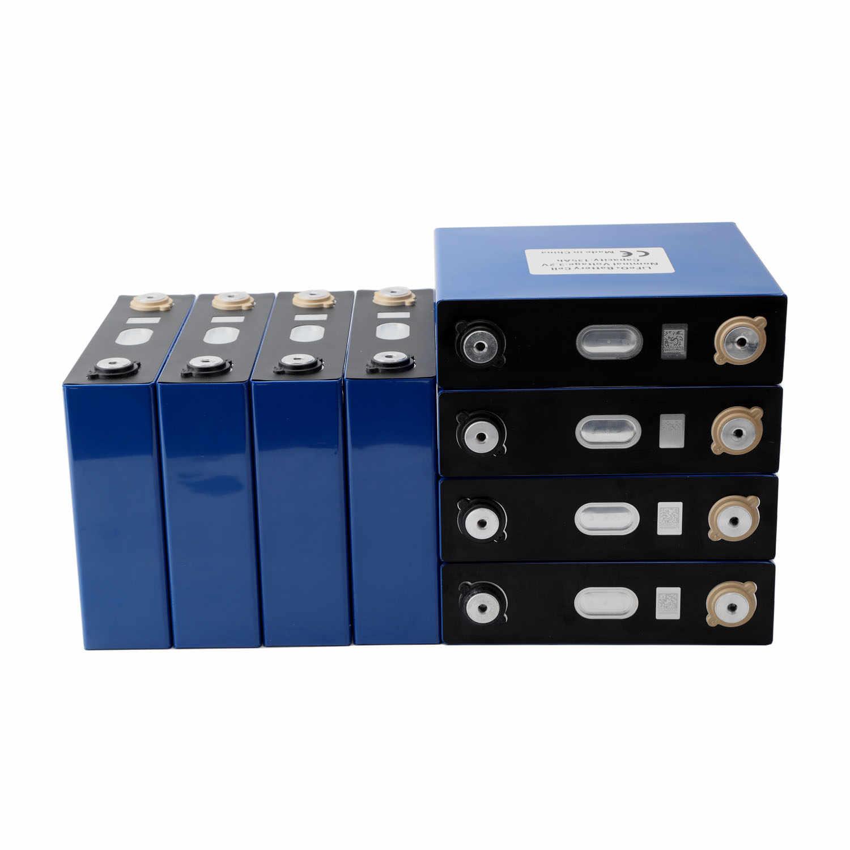 8PCS חדש 3.2V 120Ah 150Ah ליתיום ברזל פוספט תאים Lifepo4 סוללה DIY שמש 12V 24V סוללה חבילה מחזור 4000 פעמים מס משלוח