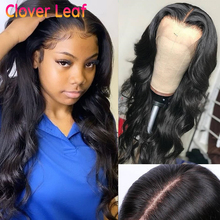 Clover Leaf Body Wave Wig 360 Lace Frontal Wig 150% Brazilian13X4 Lace Front Human Hair Wig Remy 4X4 Closure Wig Pre Plucked