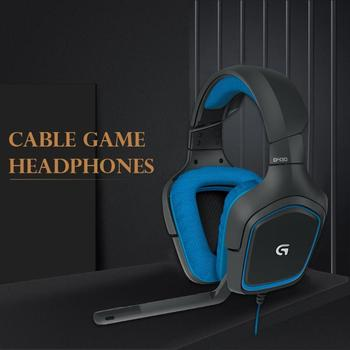 Logitech G430 USB Wired 7.1 Surround Adjustable Noise-Cancelling Headset Logitech Professional Gaming Headset high quility 2