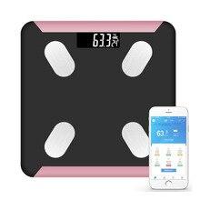 Bluetooth App Smart Body Fat весы вес человеческого тела весы здоровье человека электронные весы для измерения веса жира 280*280 мм