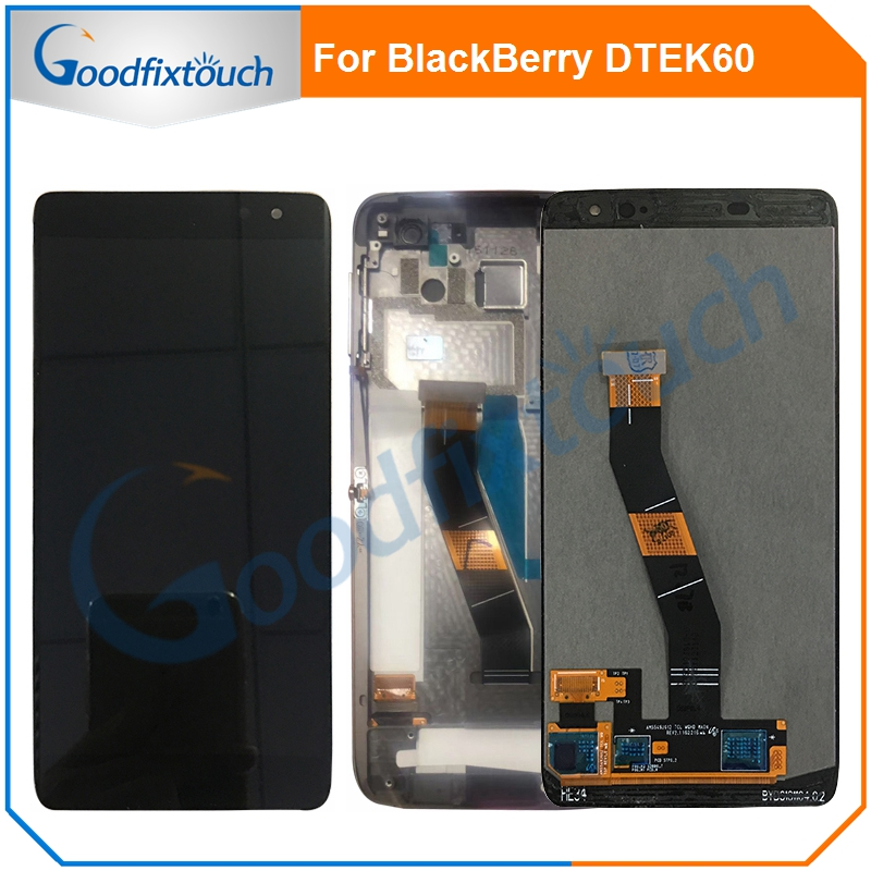 "5.5"" LCD Screen For BlackBerry DTEK60 DTEK 60 LCD Display Touch Screen Glass Panel Digitizer Assembly Replacement Parts"