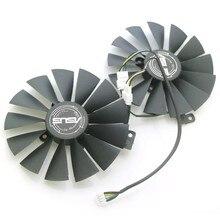 T129215sm 12v 0.25amp 95mm gpu ventilador para asus strix rx570 rx580 gtx1050ti mineração gpu P104-100 4g placa gráfica cooler ventilador de refrigeração