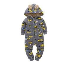 Одежда для маленьких девочек; с капюшоном мальчиков; Теплый