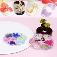 1 Wheel Nail Dried Flowers 3D Pressed Blossom Flower Stickers Polish Manicure  Floral Sticker Nail Art Tips Nail Sticker Wheel # nail sticker korea 3d nail sticker watermark applique phototherapy nail polish glue flower sticker white big sticker