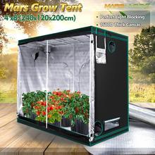 1680D Mars Hydro 240X120X200cm Indoor Led Grow Tent Indoor Teeltsysteem Niet Giftig Plant Room Indoor Tuin Water proof Hut