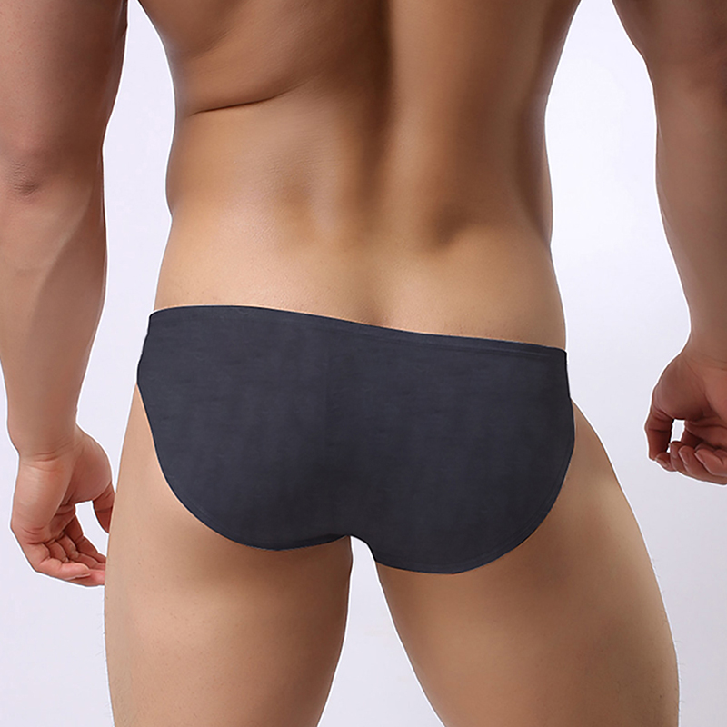 New ADANNU! Men Underwear Men Briefs Modal Male Panties Cueca Tanga Breathable Comfortable Underpants AD314