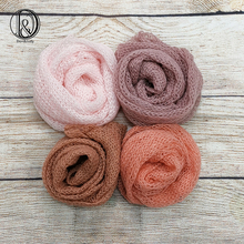 Don&Judy 3/4pcs Pack Stretch Mohair Wrap Newborn Photography Props Baby Photo Shoot Accessories Photograph For Studio fotografia
