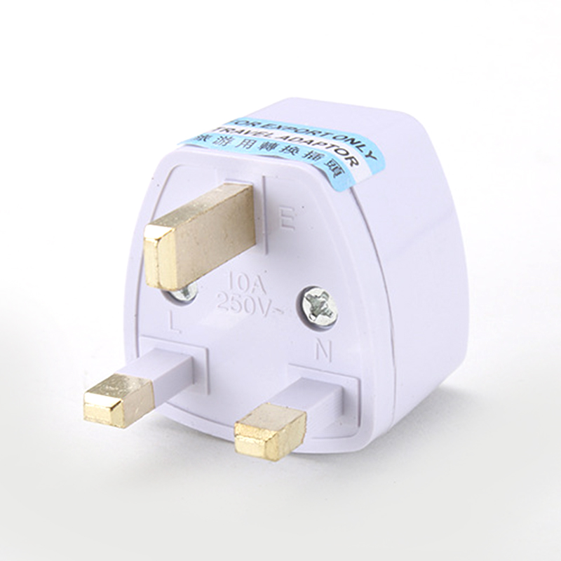 0-250V 10A 1000W UK To EU Euro Portable Outdoors Travel Wall Adapter Converter Socket UK Pakistan Malaysia Maldives Power Plug