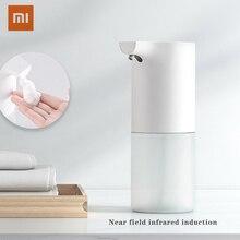 Xiaomi オリジナルmijia自動誘導発泡ハンドワッシャー自動洗浄石鹸0.25s赤外線スマート家在庫