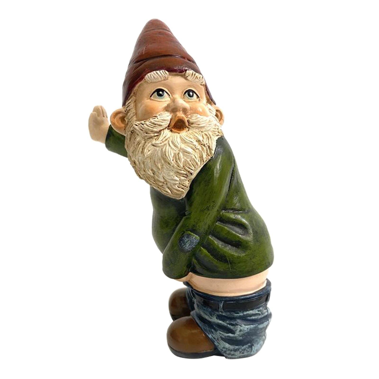 Сад гном украшения новинка открытый лужайка гном фигурка статуи рождество сделай сам