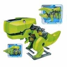 3 в 1 робот на солнечных батареях Обучающие солнечные игрушки модели строительные наборы DIY Сборные игрушки для детей