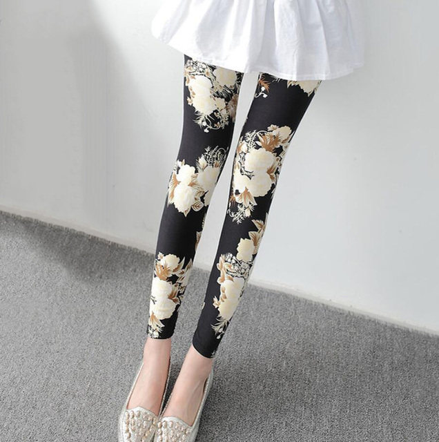Summer Floral Leggings 10