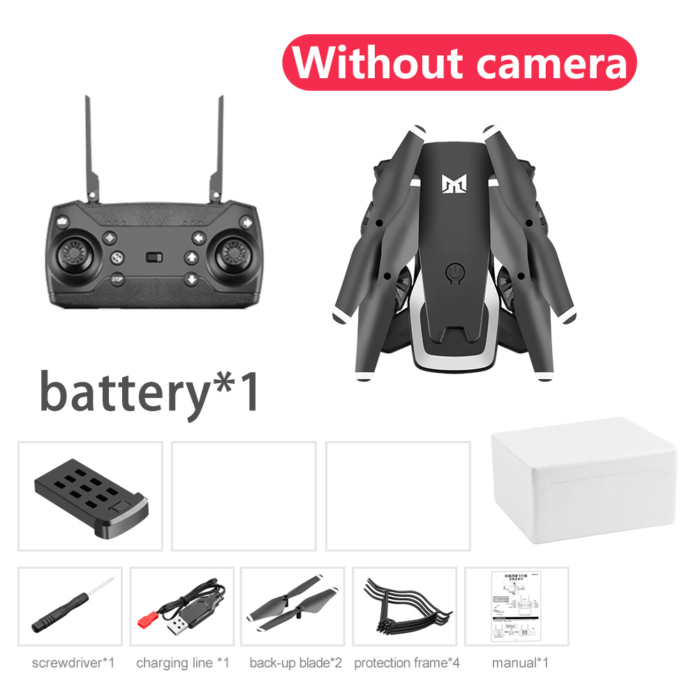 New KK6 Mini Drone with WIFI FPV 4K HD Camera Hight Hold Mode RC Helicopter Foldable Gesture Selfie Quadcopter Dron VS M69 Gift