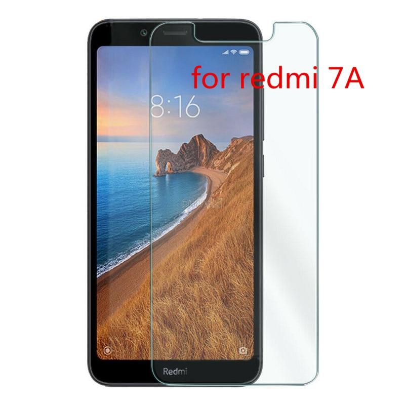 2 pièces verre trempé pour Xiaomi Redmi 7A verre de protection écran protecteur verre sur xiomi redmi 7a redmi7 a redmi7a 5.45 pouces 9H