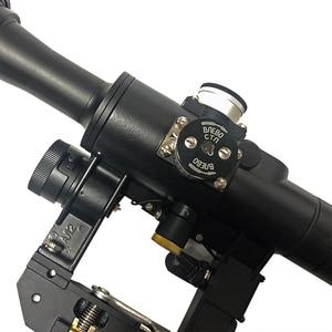 Image 5 - 4x24 PSO סוג Riflescope טקטי אדום מואר זכוכית חרוט Reticle היקף עבור דרגונוב SVD צלף AK 47 Sight רובה
