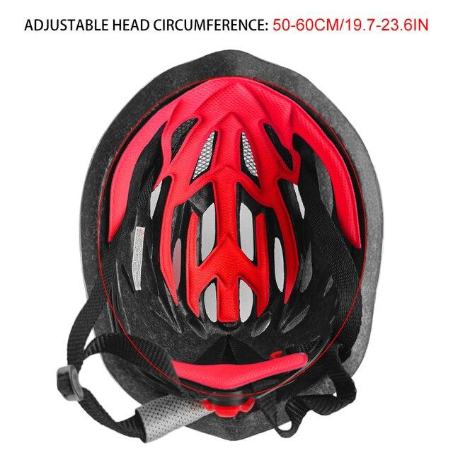 2020 novo capacete de ciclismo homem/mulher capacete da bicicleta de estrada de montanha capacete ao ar livre esportes boné casque peter 5