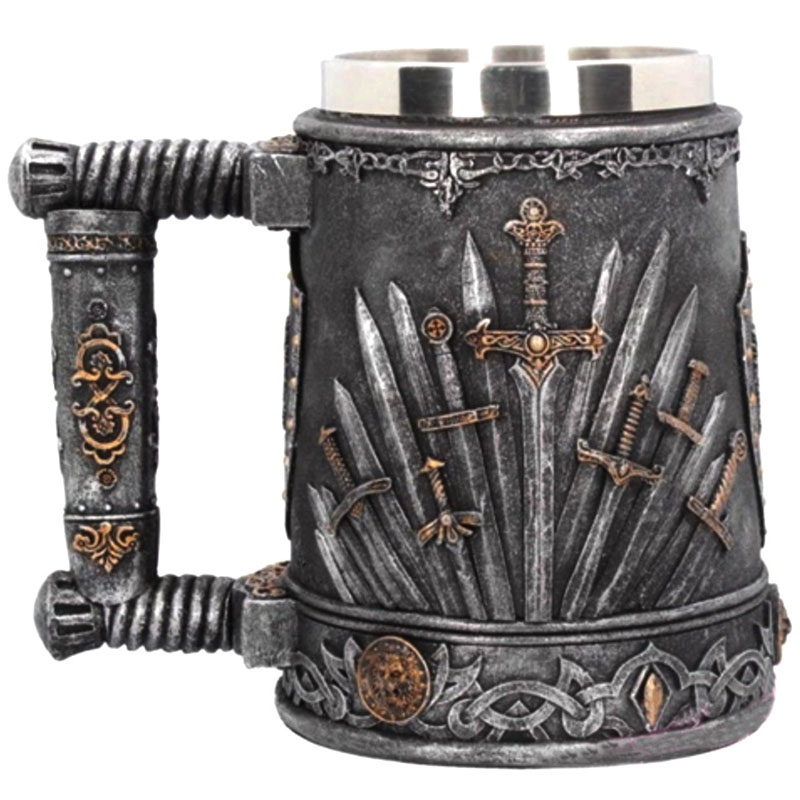 Medieval Jarra de cerveza Drag/ón de Einkaufszauber