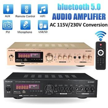 Усилитель мощности SUNBUCK AV-608BY, Bluetooth 2