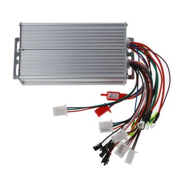 36V-48V 500W 12Pipe Wire Brushless Motor Controller for Electric Bike Tricycle image