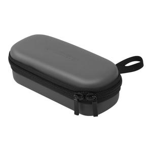 Image 2 - Osmo Tasche Lagerung Tasche Tragbare Fall PU Wasserdichte Stoßdämpfer Tasche Filter Ersatzteile Box Für DJI Osmo Tasche Kamera