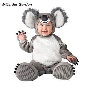 Wonder Garden nowy maluch nowonarodzony chłopczyk śliczny Koala kostium przebranie na Halloween kostium