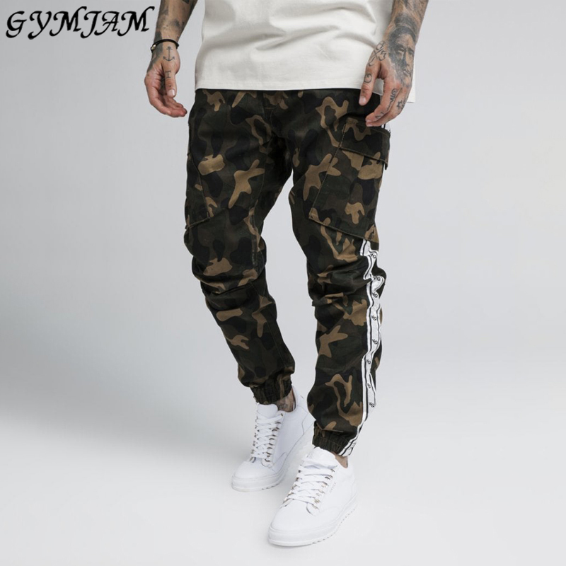 Men's Clothing 2020 Brand Fashion Loose Men's Casual Trousers Casual Street Wear Men's Pants Outdoor Workout Fitness Pants