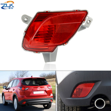 ZUK Rear Bumper Fog Light Fog Lamp Reflector Lamp Fog Mazda CX 5 CX5 2012 2013 2014 2015 2016 KE GH Tail Light Warning Lamp