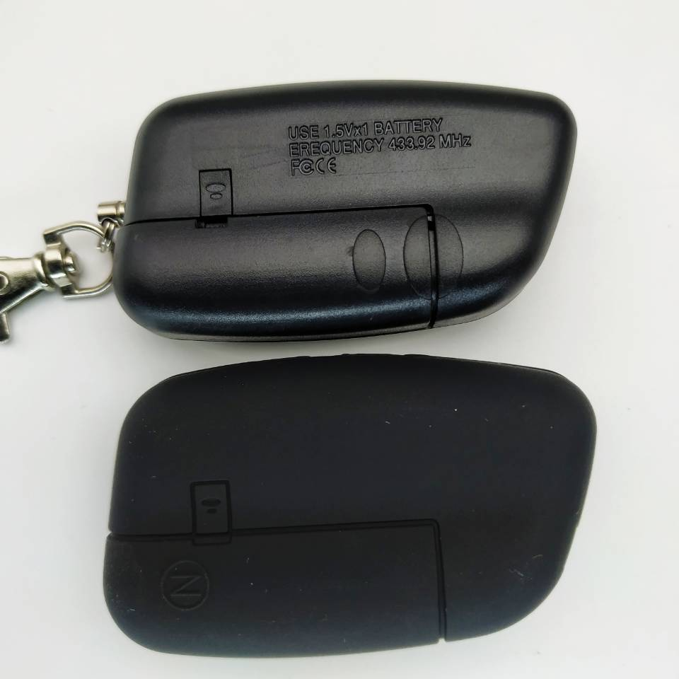 New Cenmax St-5a LCD Remote Control With Silicone Gift Key Fob Chain ST5 /Keychain For Russian Version