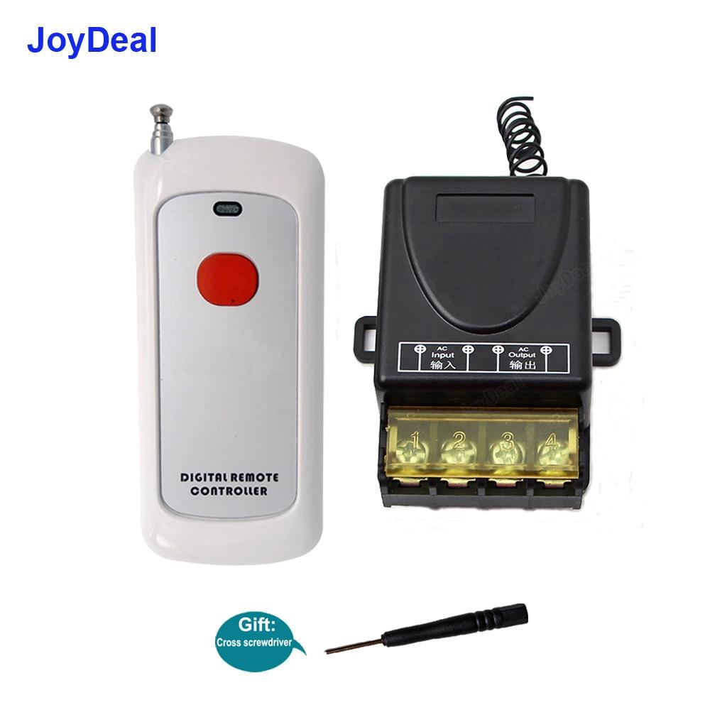 JGL-1T  500M 85V-265V  Long Distance  High Power 3000W Remote Control Switch