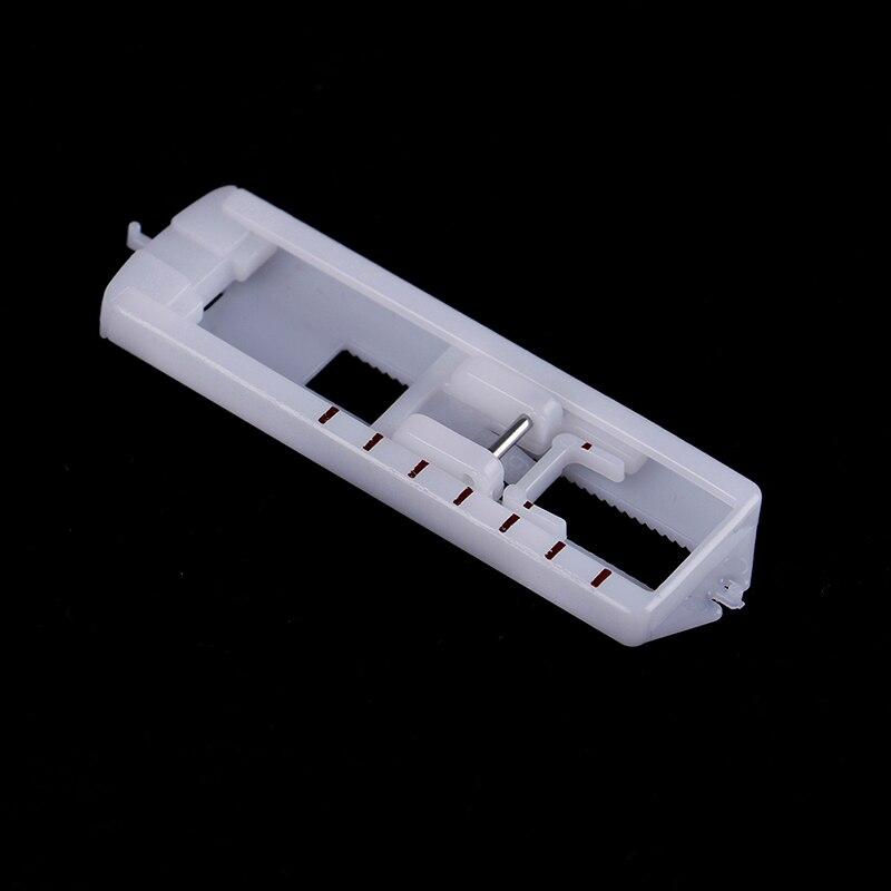 1 шт. лапка для петель оснастка на кнопке отверстие для ног бытовая швейная машина части прижимной ноги