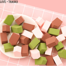 House shape Cosmetic Puff Makeup Foundation Sponge Makeup puff Powder Smooth Beauty Cosmetic make up sponge beauty tools Gifts la milee beauty makeup sponge powder puff smooth foundation sponges for lady make up high quality cosmetic puff tool 6 colors