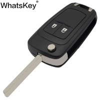 WhatsKey 2 Buttons Folding Car Key Shell Remote Flip Key Fob Case For Opel Vauxhall Astra H Insignia J Vectra C Corsa D Zafira G|key shell 2 button|shell key|shell buttons -