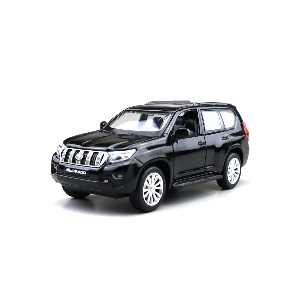 1/32 LAND CRUISER Prado 2019 SUV CAIPO MSZ Diecast Metal Model Car Toys for Kids Pull back Sound