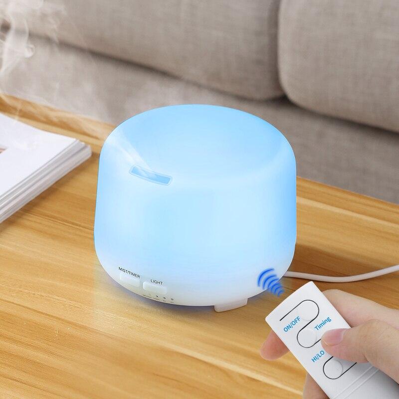 Ультразвуковой увлажнитель воздуха, Аромалампа, Электрический диффузор аромата для ароматерапии, меняющий цвет, домашний распылитель тумана|Увлажнители воздуха|   | АлиЭкспресс