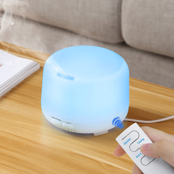 Ultrasonic Air Humidifier Essential Oil Diffuser Aroma Lamp Aromatherapy Electric Aroma Diffuser Changing Color Home Mist Maker 200ml air humidifier aroma diffuser essential oil diffuser humificado aromatherapy ultrasonic mist maker 7 color led vase shape