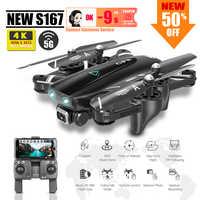 S167 GPS quadcopter drone 4k dron con cámara Juguetes rc helicóptero profesional cuadricóptero FPV juguete de carreras VS S20 SG907 X8 ex4