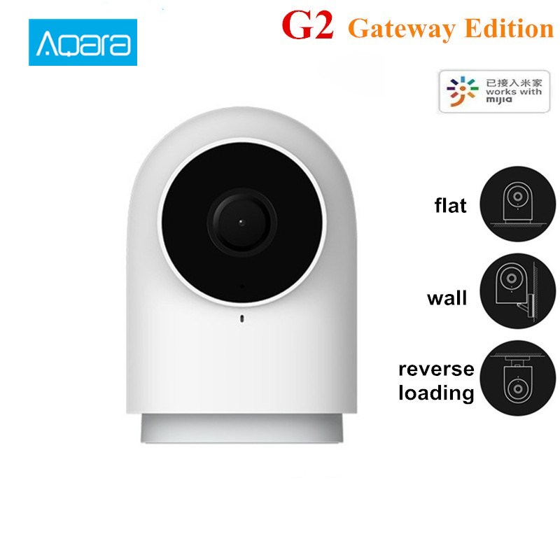 2019 Aqara G2 1080P Smart Camera Intelligent Network Surveillance Camera 2MP AI Function APP Control Gateway Edition