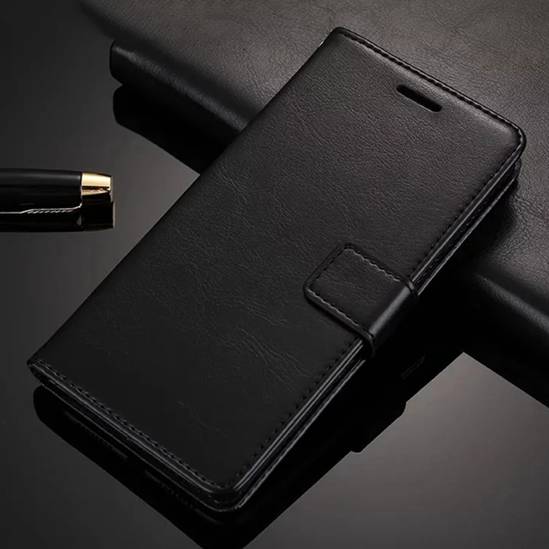 Flip Wallet <font><b>Case</b></font> for <font><b>Sony</b></font> <font><b>Xperia</b></font> L1 L2 X XA XA1 XA2 XA3 Ultra XA1 <font><b>1</b></font> 10 Plus XZ1 XZ2 XZ3 Compact Mini <font><b>Leather</b></font> Flip Phone Cover image