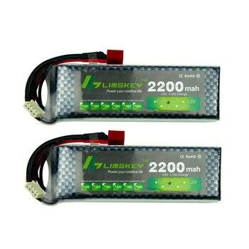 Limskey Power Brand New 11.1V 2200mAh MAX 35C battery T/xt60 Plug for Car Airplane Part 2pcs/Lot 3s lipo battery 11.1v battery new original rechargeable zop power 11 1v 5400mah 3s 20c lipo battery xt60 plug