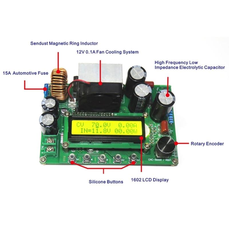 DPX800S DC-DC NC CV CC Módulo Impulsionador