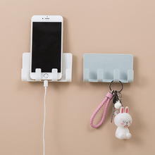 Buy Wall Holder Practical Socket Charging Box Bracket Stand Shelf Mount Support Universal For Mobile Phone Tablet Wallet directly from merchant!